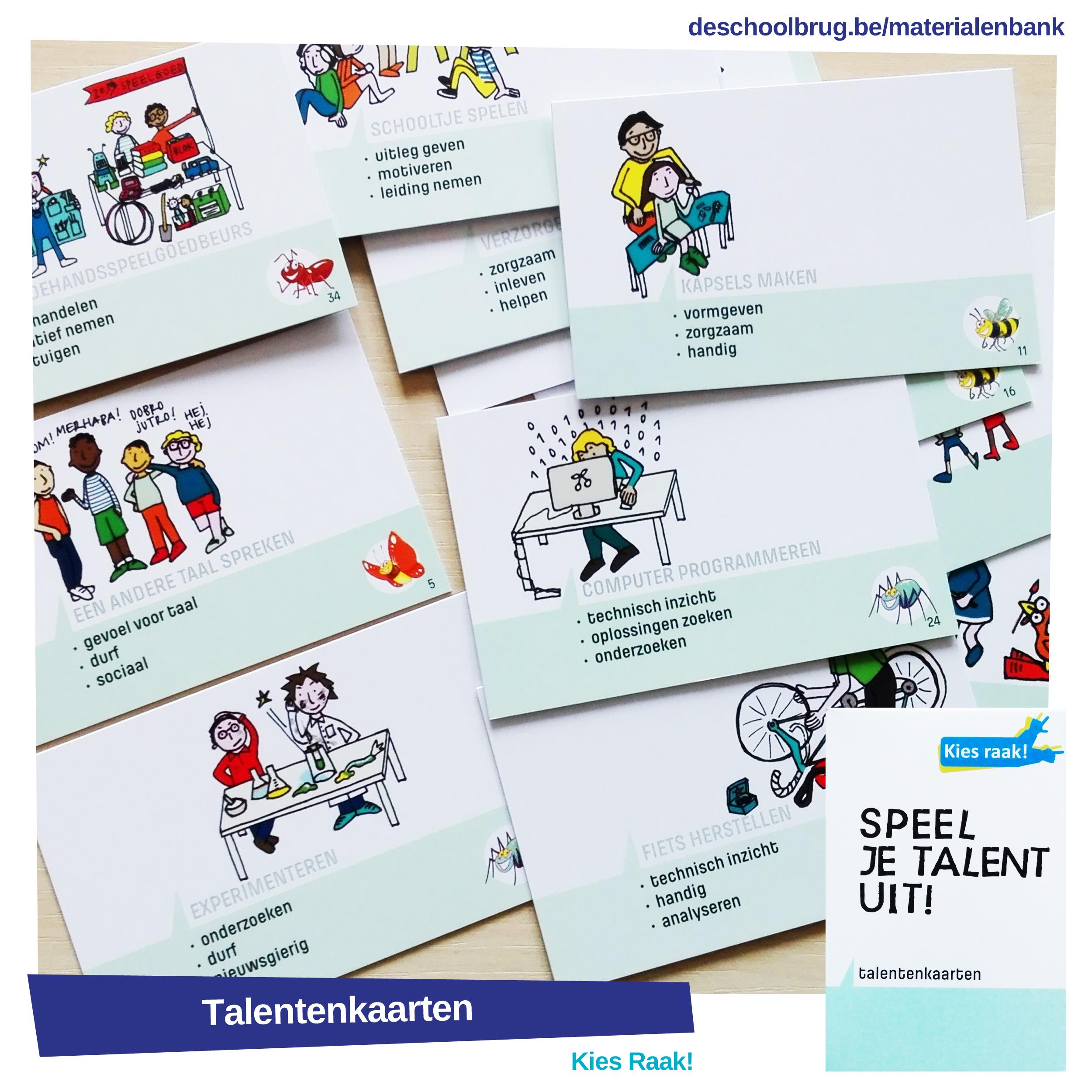 talentenkaarten